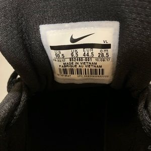 Nike Shoes - NIKE DOWNSHIFTER 7 SIZE 10.5 BLACK SHOES WORN ONCE